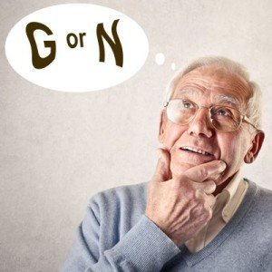 Senior Thinking Plan G or Plan N