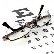 Glasses with Eye Chart