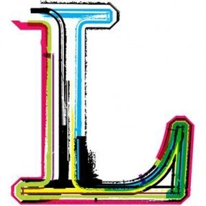 Neon letter L