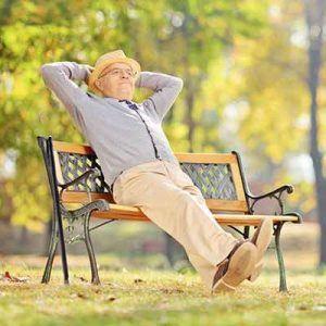 Relaxed Senior